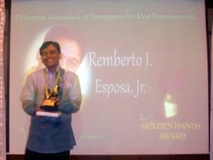 MCCID Director, Golden Hands Awardee