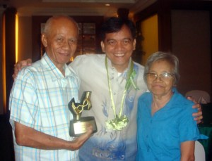 Sir Jojo with Parents
