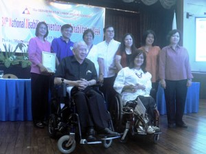 Department of Health Awardees pose together with PWAG, NCC and NCDA Officials.