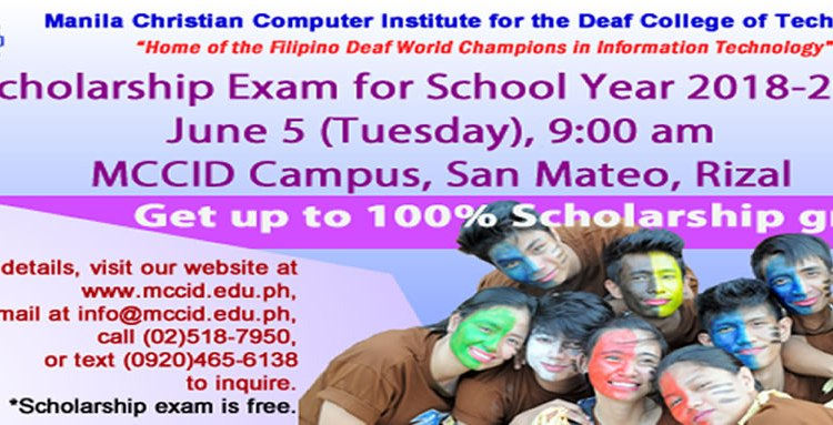 Scholarship Exam on june 5