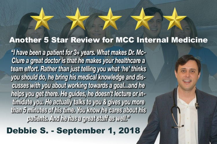 MCC Internal Medicine 5 Star Review