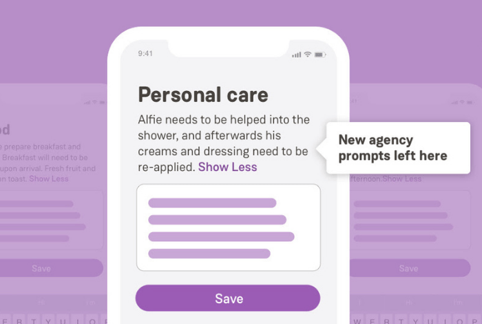 On Care Visit Type Feature