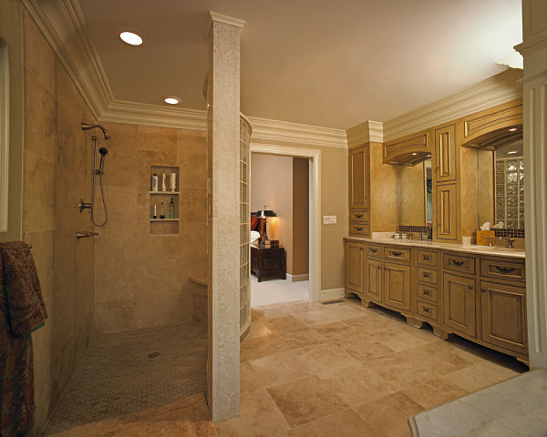 slip resistant bathroom flooring and