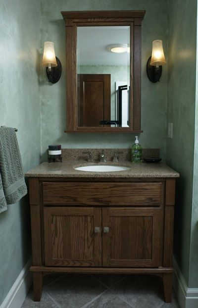 half bathroom shelf ideas