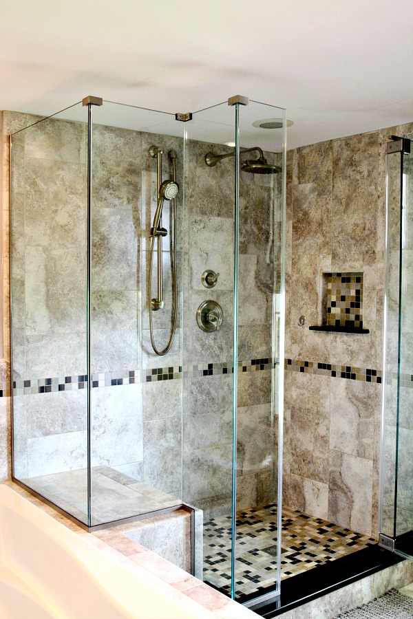 bathroom walk in shower remodeling