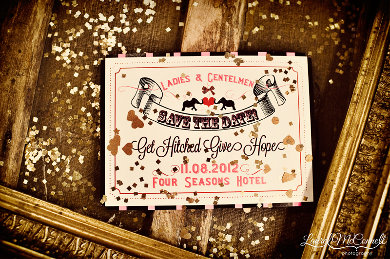 Get Hitched Give Hope Vine Carnival Style Save The Date