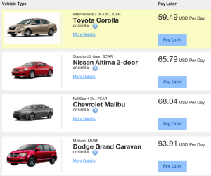 Demo of Hidden Feature to Get Cheaper Rental Car Rates