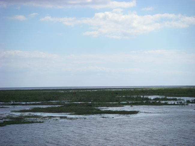 view of Lake Okeechobee, Florida