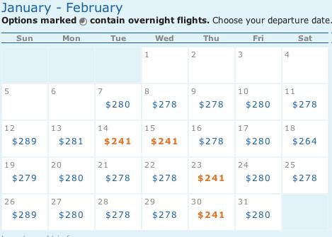 Flight Results - IAD to SJC, OAK, SFO