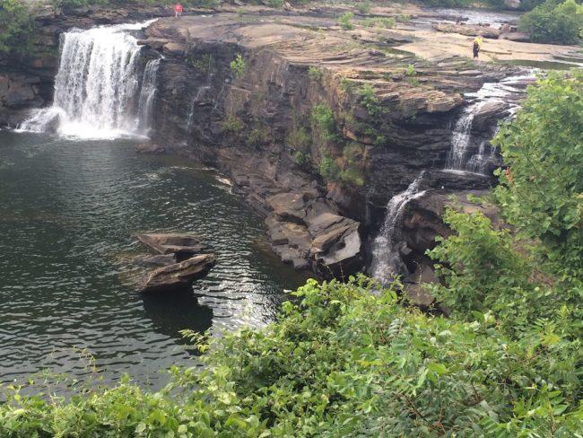 Northeast Alabama Little River Falls view