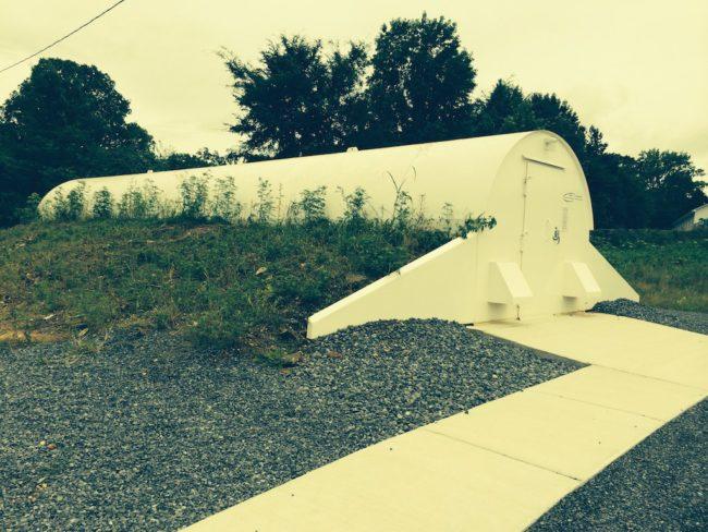 Northeast Alabama tornado shelter