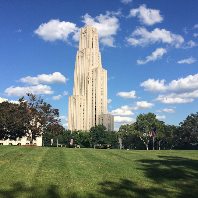 Pittsburgh road trip: Cathedral of Learning