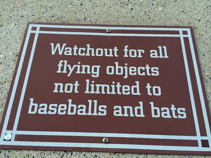 SF Giants park sign