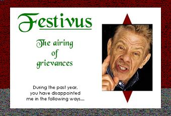 Festivus: Travel Grievances