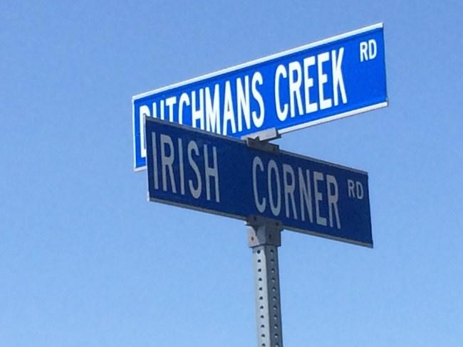 Loudoun County street sign