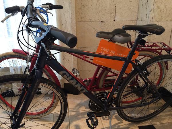 Kimpton Hotel George bikes