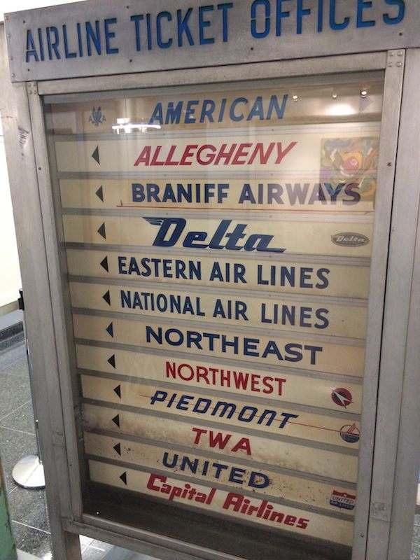 lower airfares old school