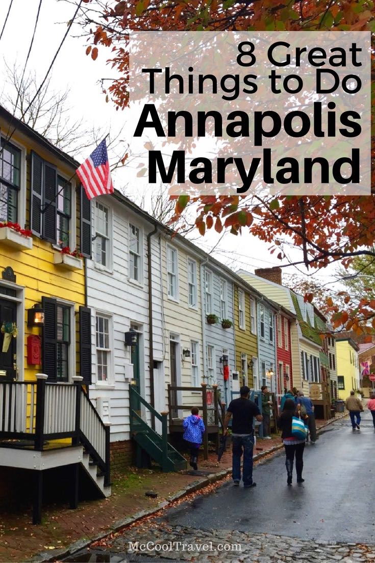 8 great things to do in Annapolis, fun activities, historic destinations, and tasty dining and drink in Maryland's capital city.