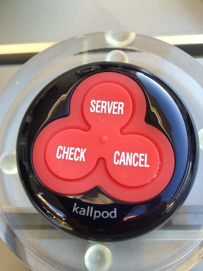 AC Hotel National Harbor bar button