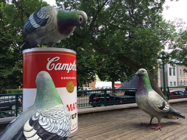 Quebec City public art