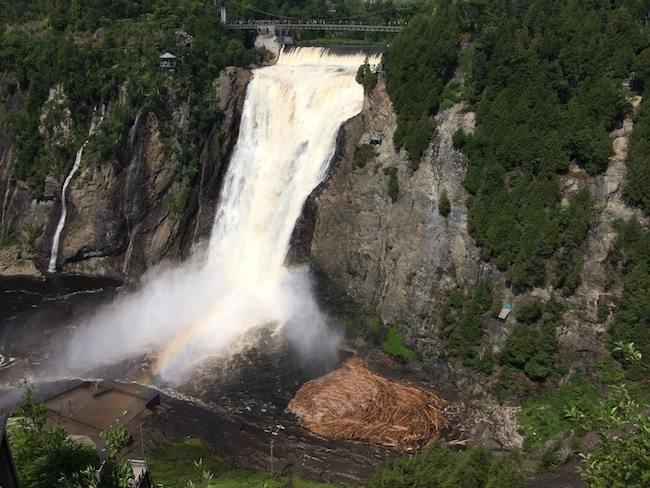 things to do in Quebec: Montmorency Falls