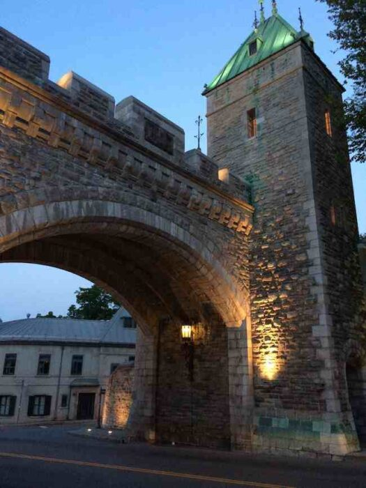 things to do in Quebec: castle walls