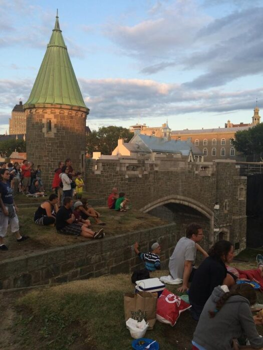 things to do in Quebec City: castle walls