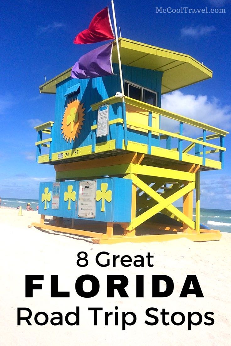 Many fun Florida road trip stops are waiting to be explored and discovered.