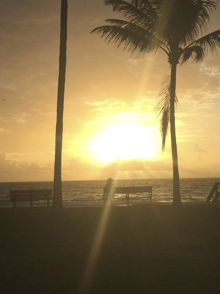 sunrise and sunset photos: Ft. Lauderdale, Florida