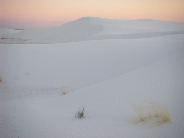 sunrise and sunset photos: White Sands National Monument, New Mexico