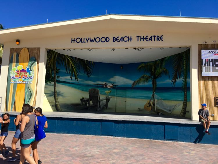 Hollywood Beach Theatre (Bandshell) in Florida
