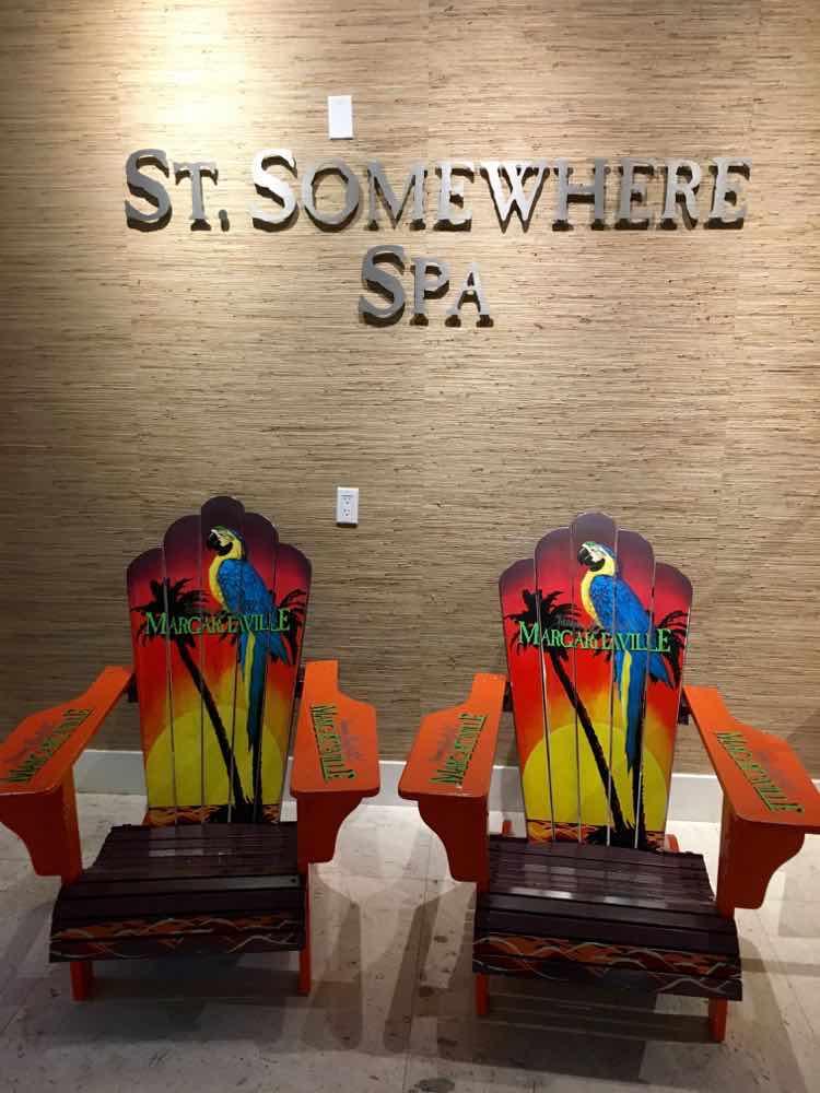 Margaritaville Beach Resort: St. Somewhere spa entrance