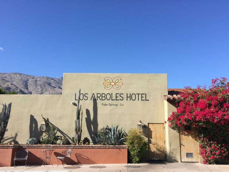 Los Arboles Hotel Palm Springs California