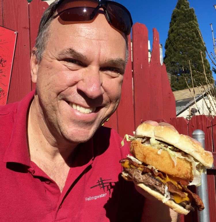 Great burgers for National Burger Month. Article and photo by Charles McCool for McCool Travel.