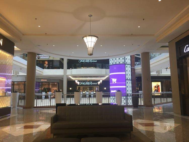 entrance to the Tysons Galleria shopping center