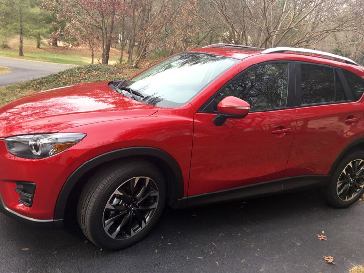 5 Fun Reasons to rive the Mazda CX-5. Article and photo by Charles McCool for McCool Travel.