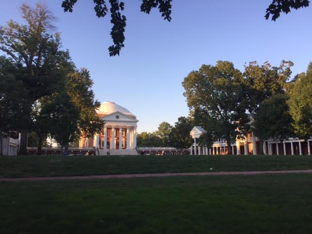 University of Virginia Rotunda in the afternoon light