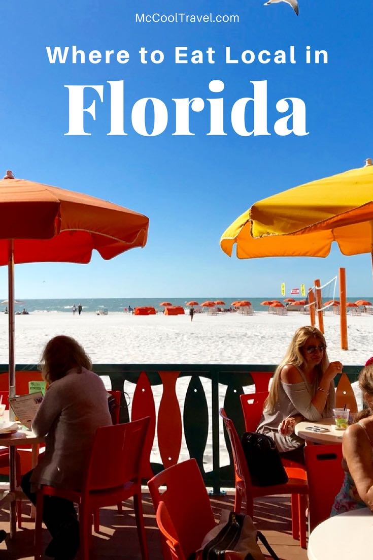 "As a travel writer, I sometimes find my own places to eat in Florida and they are often more memorable than ""free"" restaurants. Here is a collection of local Florida restaurants where I have spent my own money and that I would revisit again without hesitation."