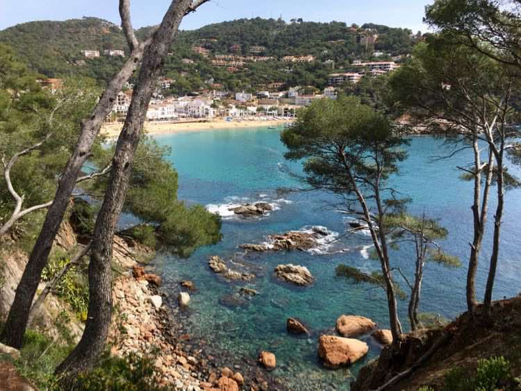 cool places to see in Costa Brava Spain: Calella de Palafrugell. Article and photo by Charles McCool for McCool Travel