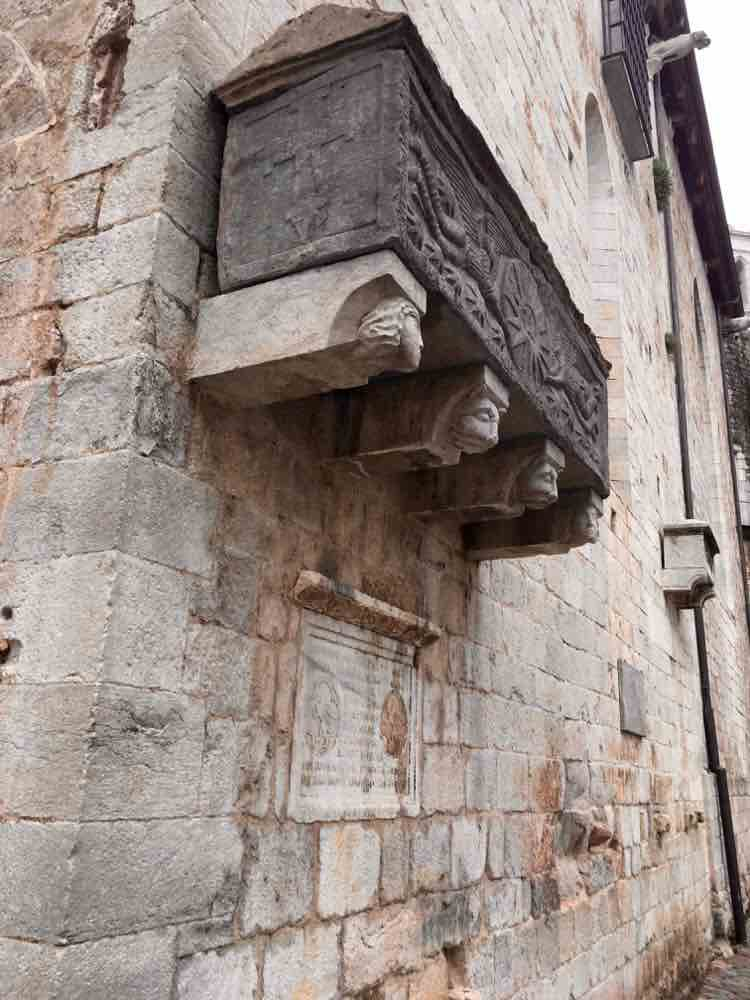 what to see in Costa Brava Spain: medieval Girona. Article and photo by Charles McCool for McCool Travel
