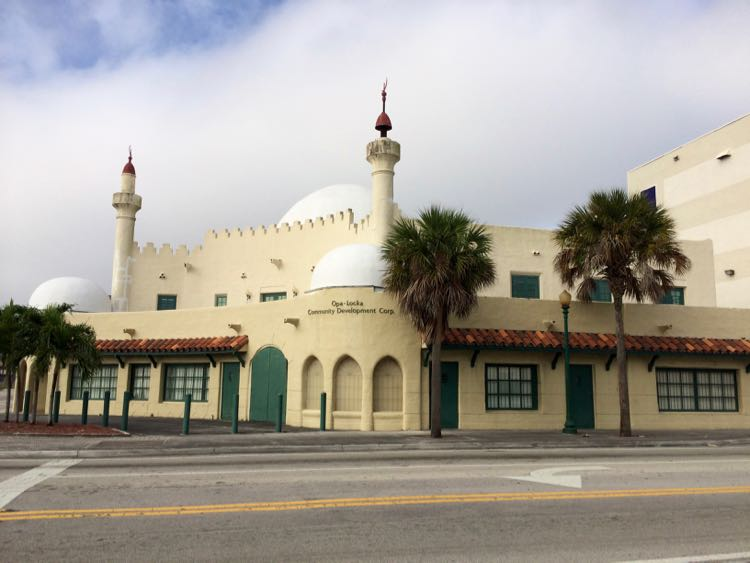 Arabian architecture of Opa-Locka building
