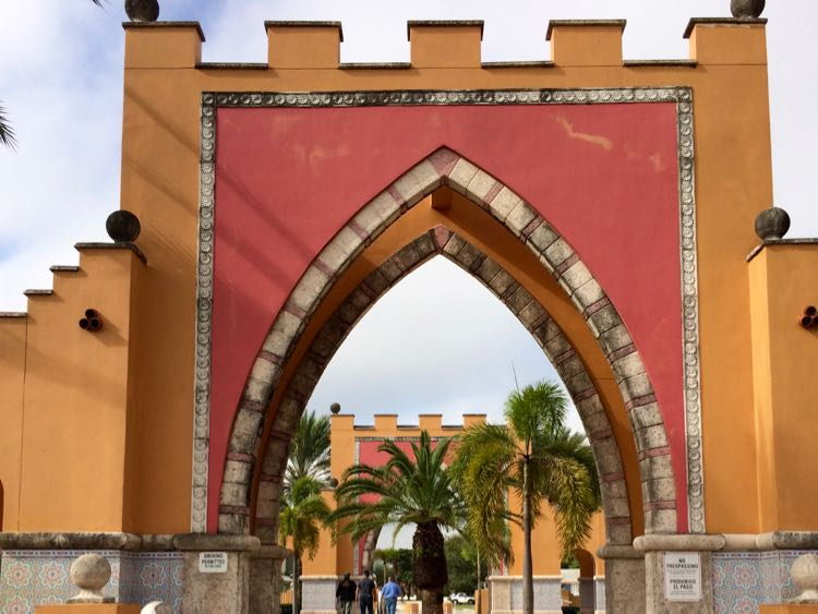 Arabian archways in Opa-Locka Florida