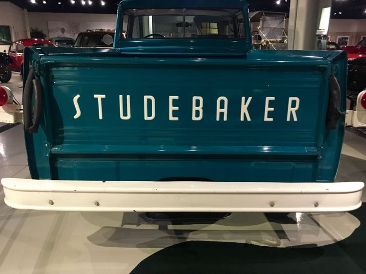 vintage pick up truck at Studebaker Museum
