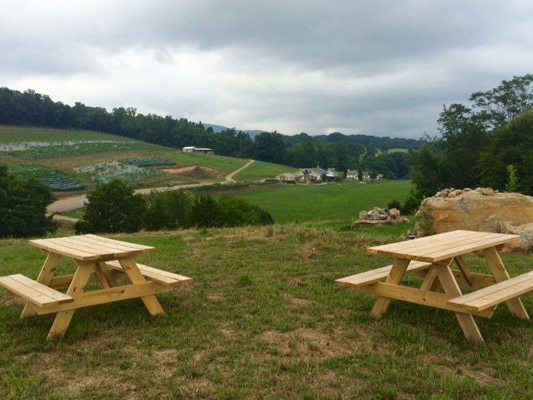 Blacksburg Virginia lodging: Beliveau Estate