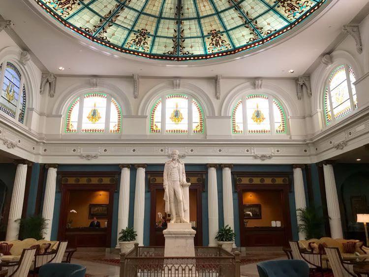 Lobby Jefferson Hotel Richmond VA by Julie McCool