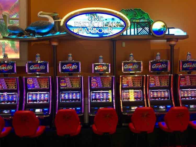 Jimmy Buffett Margaritaville themed casino machines