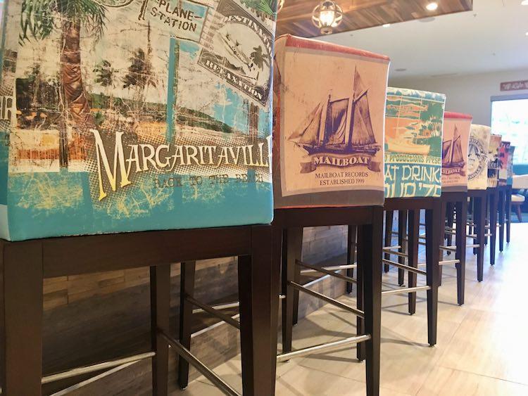seats at License to Chill Bar, Margaritaville Resort Gatlinburg
