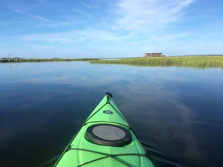 kayaking in Chesapeake Bay Virginia Eastern Shore
