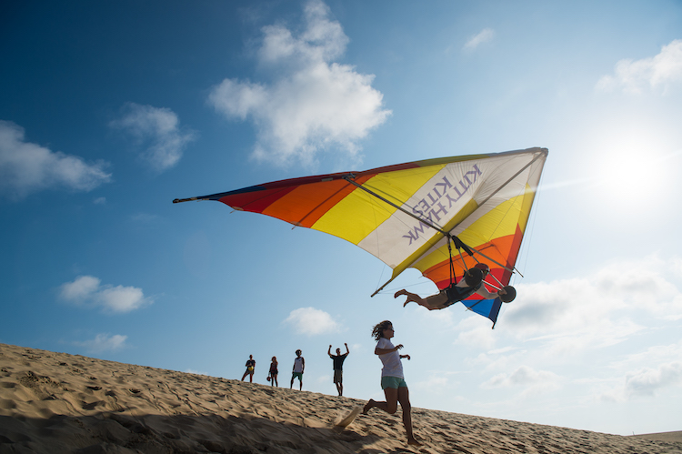 hang gliding with Kitty Hawk Kites in Outer Banks