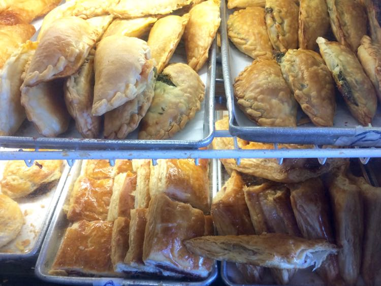 Cuban pastries at Versailles in Little Havana Miami